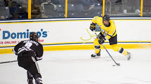 bentley college hockey power play pushes men u0027s ice hockey to 4 1 win over army