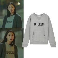 ji euntak goblin broken gray sweatshirt on storenvy