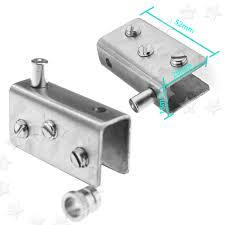 glass door pivot new 2 x 304 stainless steel glass door pivot hinge set for 10mm