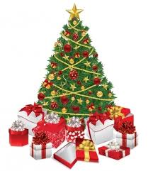 presents under the christmas tree clipart clipground