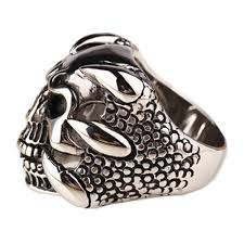 antique skull rings images Dragon claw skull ring the best gifts factory jpg