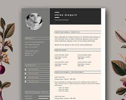 Fashion Resume Templates Resume Template Feminine Resume And Free Cover Letter