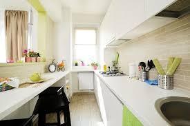 am agement cuisine en longueur aménagement cuisine conseils idées et photos cuisine