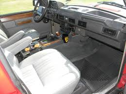 Classic Range Rover Interior 1988 Land Rover Range Rover Classic A C Works U0026 Excellent