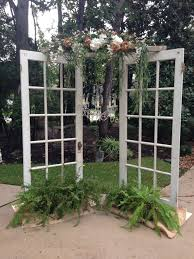 wedding backdrop doors houston vintage furniture rental by rent some vintage