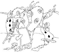 alice wonderland coloring pages alice wonderland cartoon