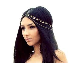 chain headband retro mysterious fashion metal chain jewelry