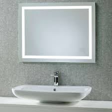 Mirror In The Bathroom The Beat Roper Beat Illuminated Led Bathroom Mirror With Integrated