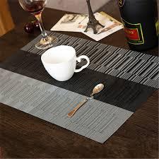napperon de cuisine style européen pvc polyester isolation thermique napperon table à