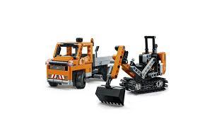 lego technic konstruktorius lego technic kelio remonto komanda 42060 funtastik