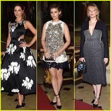 Kate Beckinsale Halloween Costumes Kate Beckinsale U0026 Kate Mara Attend Dior Cruise Fashion Show
