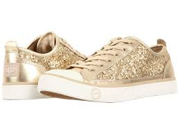 ugg sale shoes ugg australia womens evera glitter sneaker shoes chagne size 7