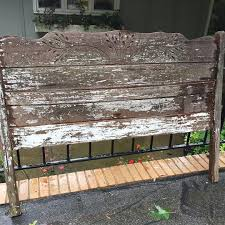 Bed Headboards And Footboards Bed Headboard And Footboard Become A Bench Hometalk