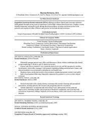 Dental Certification Letter Sle Cover Letter Resume Template For Dental Assistant Free Resume