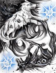 yin yang wolves by lucky978 on deviantart