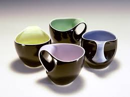 modern coffee cups b bicolor coffee cups