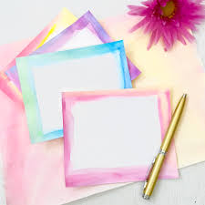 watercolor notecards handmade watercolor notecards 100 directions