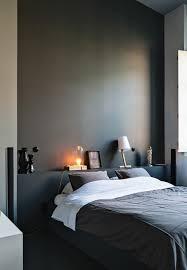 chambre ton gris nos astuces en photos pour peindre une pièce en deux couleurs