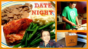 Home Chef by Cooking Date Night With Home Chef Youtube