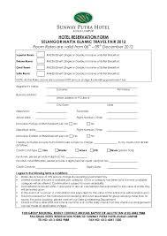 travel reservation images Hotel reservation form selangor matta islamic travel fair 2012 from jpg