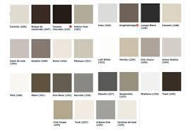 palette de couleur peinture pour chambre nuancier peinture couleur gris greene 22 couleurs