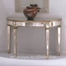 vintage style console table vintage style mirrored furniture console table buy