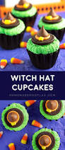witch hat cupcakes homemade hooplah