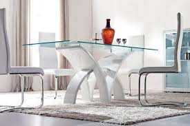 glass dining room table set dining room contemporary glass dining table glass