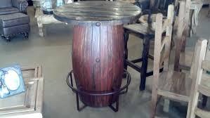 Barrel Bar Table Wine Barrel Pub Table