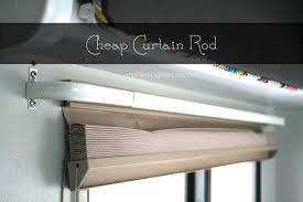 Cheap Curtain Rod Ideas Stylish Best 25 Cheap Curtain Rods Ideas On Pinterest Corner