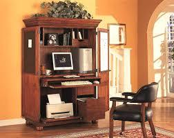 Small Corner Computer Armoire by Baby Armoire Wardrobe Hidden Desk Computer Cabinet Small Corner