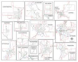 Ohio Road Map Maps