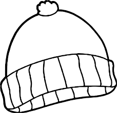winter cloths coloring page wecoloringpage