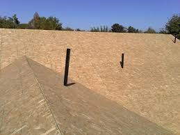 Radiant Barrier Osb Roof Sheathing by Osb Roof Decking Flat Roof Pictures