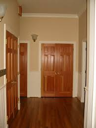 Interior Door Stain How Our Interior Doors Would Look With Trim Painted White Home