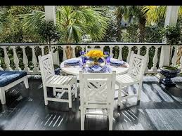 Patio Furniture Charleston Sc Setting The Table With Carolyne Roehm In Charleston Quintessence