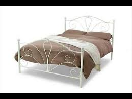 metal bed frame single bed design ideas youtube