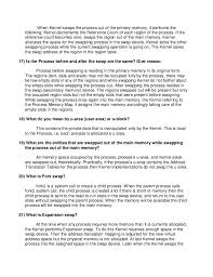 Linux Resume Process Linux Or Unix Interview Questions