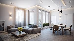 contemporary apartment visualization by alexander zenzura
