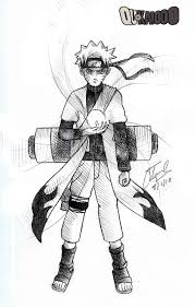 naruto sage mode pencil by qukai415 on deviantart