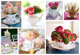 tea party bridal shower ideas photo tea party bridal shower ideas image