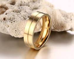 new jewelry rings images New rings for women simple titanium steel couple rings gold jpg