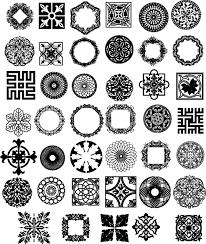 corner pattern png pattern png clipart