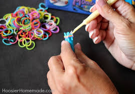 make rubber bracelet images How to make a triple fishtail rubber band bracelet hoosier homemade jpg