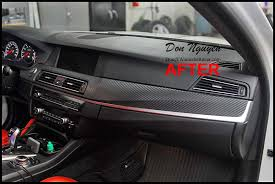 How To Vinyl Wrap Interior Trim Bmw Bmw M5 F10 Sedan Matte Carbon Fiber Interior Car Vinyl Wrap