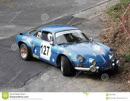 alpine a110 for sale alpine renault a110 rally car editorial photo image 69834896