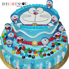 Cake Decorating Singapore Doremon Party Cake Delivery Singapore