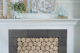 woodstack fireplace insert tutorial unexpected elegance