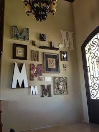 home decor letters letter m home decor alluring wall decor ideas for letter m wall