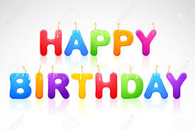happy birthday candle happy birthday candle royalty free cliparts vectors and stock